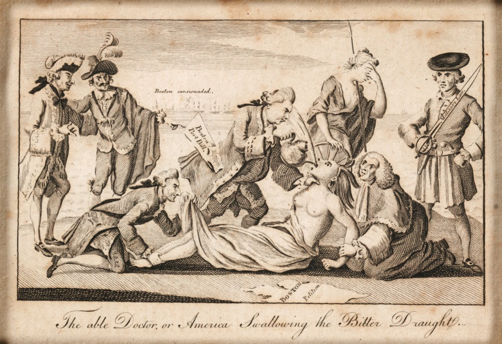 the intolerable acts as a reason of the american revolutionary war
