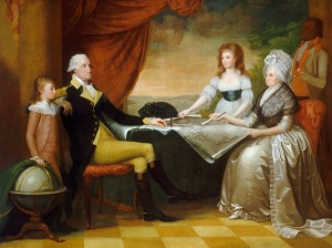 [Figure 2: Edward Savage, The Washington Family 1789-1796, National Gallery of Art, Washington, DC]