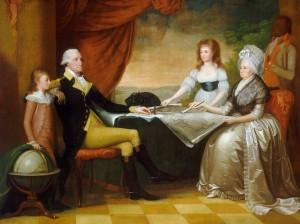 [Figure 2: Edward Savage, The Washington Family 1789-1796, National Gallery of Art, Washington, DC]