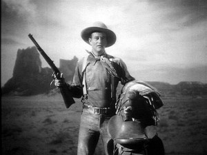 [Figure 13: John Wayne in Stagecoach (1939).]
