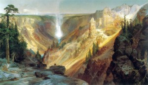 [Figure 8: Thomas Moran, Grand Canyon of the Yellowstone, 1872, oil on canvas. Smithsonian American Art Museum.]