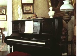 Figure 19: Piano, West Parlor, Cedar Hill. Source: Frederick Douglass National Historic Site, FRDO 45