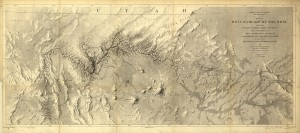 [Figure 6: Rio Colorado of the West . . ., 1858. Library of Congress Geography and Map Division.]